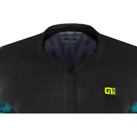 Alé Cycling R-EV1 Pro Race Shortsleeve Jersey Herr black-turquoise